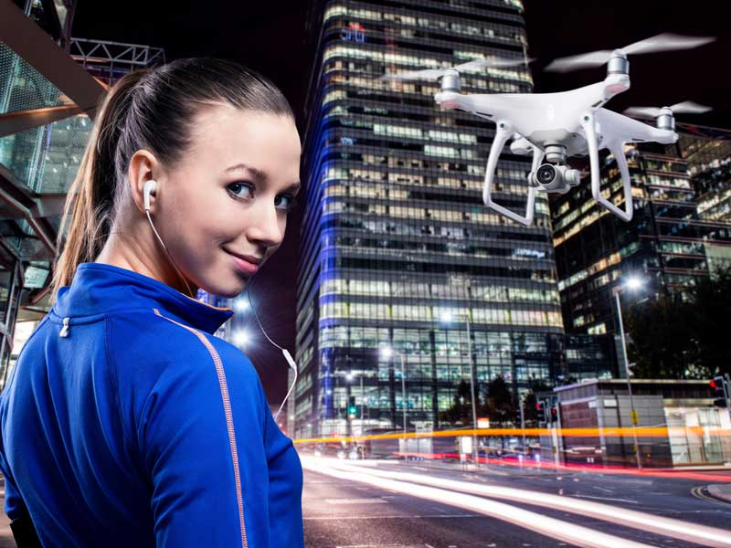 Formation pratique au pilotage de drone civil